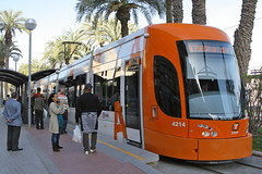 Plaza Puerta Del Mar, Alicante, March 31st 2010 (Southsea_Matt) Tags: tram lightrail metro alicante spain plazapuertedelmar fgv canon 10d march 2010 spring