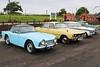 British Classic Cars (Lazenby43) Tags: triumph tr4 rover p6 vitesse morris minor evp124 2000tc