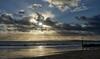 Beach Rays (Tilney Gardner) Tags: crepuscularrays boscombe bournemouth beach southcoast clouds nikon dorset