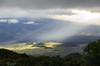 Hawaiian view (theoneandone24) Tags: hawaii light beam landscape mountains bigisland maunakea maunaloa