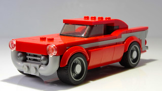 Lego Chevrolet Bel Air Speed Champions styled