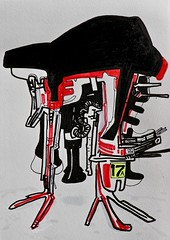 Jim Harris: Untitled. (Jim Harris: Artist.) Tags: art arte dessin drawing technology rysunek abstract zeitgenössische zeichnung technik space cosmos