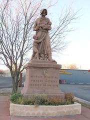 Madonna of the Trail (Arizona) (jimsawthat) Tags: statue smalltown madonnaseries arizona springerville