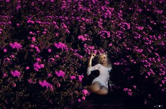 Be in blossom. (Luciano Paz) Tags: nikonme nikonphoto portrait shooting retrato retrat wonderful beautiful nikon photography beauty shoot portraits flirck fotografia attitude ensaio brazil incredible lucianopaz thisisexcellent poetic women flowers blondes woman delicacy photos blossom model