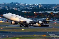 N578UP 5X B747BCF 34L YSSY-4453 (A u s s i e P o m m) Tags: mascot newsouthwales australia au ups 5x boeing b747bcf b747 queenoftheskies syd yssy sydneyairport