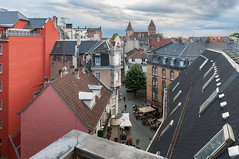 LAFAYETTE TOIT-109 (MMARCZYK) Tags: france alsace grandest strasbourg basrhin 67 panorama toit dach galeries lafayette