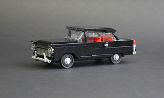 Anonymous Black Sedan - 01