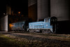 Circle S (Matthew DeLanghe) Tags: lc emd southcarolina mill night flash