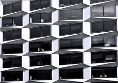 Building Abstract #84 - explored (Joseph Pearson Images) Tags: building architecture abstract 1colemanstreet london davidwalkerarchitects swankehaydenconnell blackandwhite bw mono