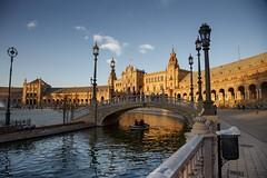 Plaza de España (José Angel Caballero) Tags: sevilla plazadeespaña andalucía andalusien españa spain sol canon europa seville