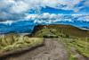 Camino al Rucu (NarayaniPH) Tags: rucu volcano trip ways blue sky landscape canon 5d nature view