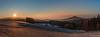 Sudeten Panorama (Wilke Michael) Tags: kammstrase lückendorf sudetenblick jeschken oberlausitz zittauergebirge jeschkengebirge winter sonnenaufgang sachsen sonne schnee wald berge