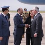 Secretary Tillerson Arrives in Beirut, Lebanon thumbnail