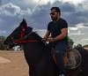 Horse Rider (MetebAli15) Tags: horse pet rider horserider horseride horseknight knight cloudy tabuk تبوك السعودية animals