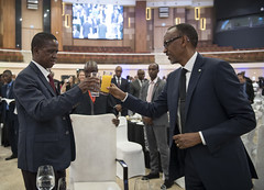 State Banquet hosted in honor of Zambian President Edgar Lungu   Kigali, 21 February 2018 (Paul Kagame) Tags: kagame edgar lungu rwanda au africa zambia