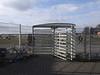Tempelhofer-Feld_e-m10_1012254252 (Torben*) Tags: olympusm1442mmf3556iir olympusomdem10 rawtherapee berlin neukoelln tempelhoferfeld drehkreuz turnstile zaun fence