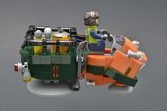 Mollusk (Profile) (Klikstyle) Tags: lego speederbike cyberpunk district18 vignette hovercycle