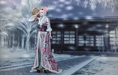Style - While There's Life, There's Hope (Alicia Chenaux - Ch'Know Blogs) Tags: secondlife secondlifebloggers secondlifeblog secondlifefashionbloggers secondlifefashion boobs secondlifefashionistas secondlifefashionblog secondlifeevents secondlifeshopping japanese japaneseinspired geisha geishainspired winter outdoors kimono secondlifetheepiphany secondlifeblondes secondlifeblogs secondlifeblogging secondlifeclothes secondlifeclothing sl slfashionbloggers slfashionistas slfashionblog slshopping slevents gacha secondlifegacha theepiphany luas limerence blonde virtualworld virtualwomen virtualfashion fashion fashionblogger fashionistas