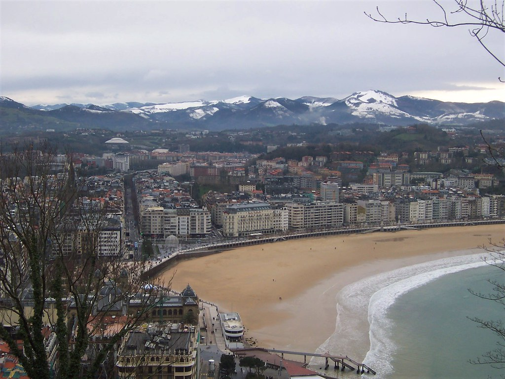 San Sebastian from the castle