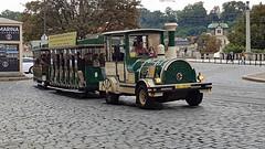 Tourist transport Prague 2017 (Daves Portfolio) Tags: prague 2017 czechrepublic praha publictransport tourists landtrain train roadtrain