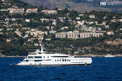 Madame Kate - 60m - Amels (Raphaël Belly Photography) Tags: rb raphaël monaco raphael belly photographie photography yacht boat bateau superyacht my yachts ship ships vessel vessels sea madame kate 60m amels 60 m white blanc bianco