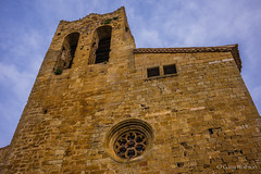 Pals Church (Gary Wolfson) Tags: barcelona catalonia europe leicam pals spain travel
