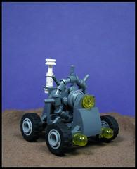 Autonomous Geo-survey Rover (Karf Oohlu) Tags: lego moc microscale rover febrovery autonomousgeosurveyrover autonomousrover surveyrover scifi