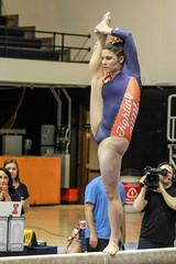This move's a bit of a stretch (RPahre) Tags: gymnastics huffhall huff champaign illinois universityofillinois b1g bigten beam balancebeam stretch karenhowell