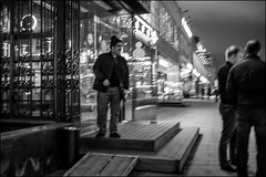 DRD160401_0849 (dmitryzhkov) Tags: russia moscow documentary street life lowlight night human candid monochrome reportage social public urban city photojournalism streetphotography stranger people bw nightphotography dmitryryzhkov blackandwhite