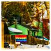 PEACE (Timothy Valentine) Tags: 2018 0118 intheneighborhood mailbox sign friday large fence eastbridgewater massachusetts unitedstates us