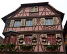 Pink House [Obernai - 7 December 2017] (Doc. Ing.) Tags: halftimberedhouse wood halftimbered 2017 france alsace obernai town christmas grandest basrhin sélestaterstein architecture building façade pink christmasdecorations upper rhine