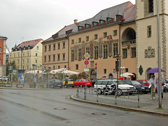 German building on the Streets of Passau Germany (bellrich1941) Tags: passau germany