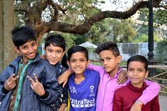 Sunny faces on a winter afternoon (sanat_das) Tags: boys rabindrasarobar kolkata sunnyfaces onawinterafternoon streetphotography d800 28300mm