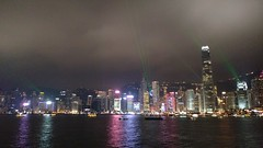 Symphony of Lights (Toni Kaarttinen) Tags: hongkong 香港 night lights nightphotography skyscraper skyscrapers victoriaharbour harbor symphony central