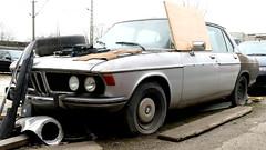 BMW E3 (vwcorrado89) Tags: bmw e3 bavaria 28 30 33 2800 3000 si rusty rust abandoned wreck old car