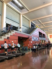"RSF=Recreational Sports Facility=""the gym"" (Melinda Young Stuart) Tags: uc cal berkeley rsf gym fit wellness exercise workout treadmill students high open"