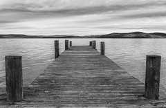 Looking forward (tods_photo) Tags: ifttt 500px sky lake sunset water reflection clouds black white pier marina harbor riverbank jetty norway