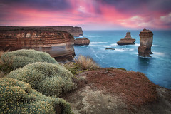 Incredible Coastline || GREAT OCEAN ROAD || AUSTRALIA (rhyspope) Tags: australia aussie vic victoria great ocean rad melbourne loch ard gorge razorback 12 apostles rhys pope rhyspope canon 5d mkii sunrise sunset coast coastal nature rocks cliff sea marine shipwreck sky cloud rain color colour flower floral flora waves long exposure port campbell princetown