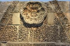 Facade of Qasr Mshatta, Umayyad, 8th cent.; Pergamon Museum, Berlin (3) (Prof. Mortel) Tags: germany berlin pergamonmuseum islamic umayyad mshatta