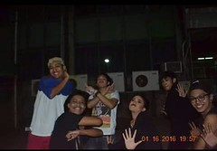 Kicking the Fish (jaysulangsawa) Tags: kicking fish james sulangsawa jay cavite state universit university band rock