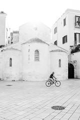 IMG_2793.jpg (Bri74) Tags: architecture bari bw bycicle church highkey people piazzadelferrarese plaza puglia