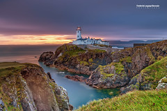 Fanad Lighthouse , Co. Donegal , Ireland (Frederick Bancale) Tags: absolutelystunningscapes canonireland 6d canon bh40 reallyrightstuff hitechfilters myrrs wildatlanticway dawn sunrise landscapes fanad donegal iireland irishlighthouse