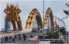 642- PUENTE DEL DRAGÓN EN DANANG - VIETNAM - (--MARCO POLO--) Tags: ciudades puentes arquitectura exotismo asia curiosidades