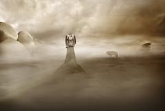 Der Wolf (winterkind.) Tags: surreal wolf digiart photoshop