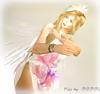 flimsy in pink   (5) (Poppys_Second_Life) Tags: picsbyⓟⓞⓟⓟⓨ popi popisadventuresin2l popikone popikonesadventuresin2l poppy sl secondlife virtualphotography flimsy floaty skimpy portrait portraiture