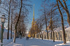 Peter and Paul Fortress (Tony_Brasier) Tags: nikond7200 sigma bluesky buildings icecold russia st petersburg people peacefull photos cold church trees lovely 1750mm