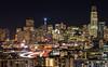 San Francisco... The city that never sleeps (Manas_50mm) Tags: urban night nightscape longexposure twilight lighttrails sanfrancisco california canon 80d city buildings nightphotography travel adventure landscape skyscraper skyline building sky