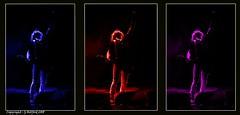 Pop Art (Holfo) Tags: lukemorley thunder popart colour trytich three 3 trio nikon p7800 stage concert