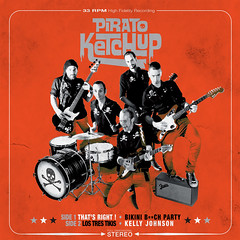 2013_Pirato_Ketchup_Thats_Right_EP_2013 (Marc Wathieu) Tags: rock pop vinyl cover record sleeve music belgium belgië coverart belgique pochette cd indie artwork vinylcover sleevedesign piratoketchup