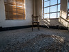 back to the basics (..Lana..) Tags: pittsburgh abandoned chair emptyroom sunlight blinds windows manual wideangle